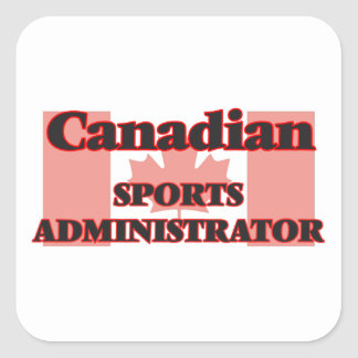 Canadian Sport Photographer Square Sticker