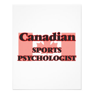 Canadian Sports Administrator 11.5 Cm X 14 Cm Flyer