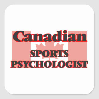 Canadian Sports Administrator Square Sticker