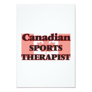 Canadian Sports Psychologist 9 Cm X 13 Cm Invitation Card