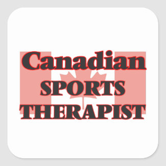 Canadian Sports Psychologist Square Sticker