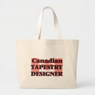 Canadian Tapestry Designer Jumbo Tote Bag