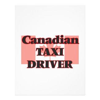 Canadian Taxi Driver 21.5 Cm X 28 Cm Flyer