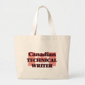 Canadian Technical Writer Jumbo Tote Bag