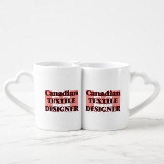 Canadian Textile Designer Lovers Mug
