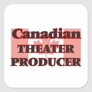 Canadian Theater Producer Square Sticker