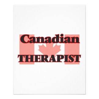 Canadian Therapist 11.5 Cm X 14 Cm Flyer