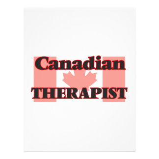 Canadian Therapist 21.5 Cm X 28 Cm Flyer