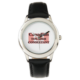 Canadian Tourism Consultant Wrist Watches
