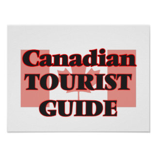 Canadian Tourist Guide Poster