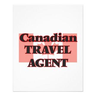 Canadian Travel Agent 11.5 Cm X 14 Cm Flyer