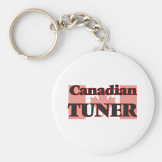 Canadian Tuner Basic Round Button Key Ring
