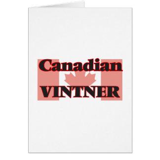 Canadian Vintner Greeting Card