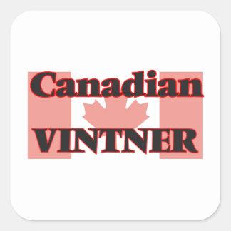 Canadian Vintner Square Sticker
