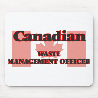Canadian Waste Management Officer Mouse Pad