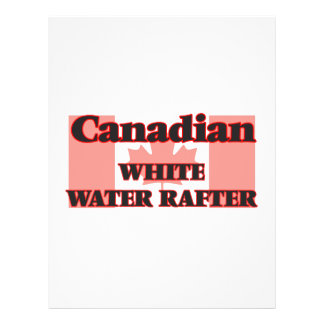 Canadian White Water Rafter 21.5 Cm X 28 Cm Flyer