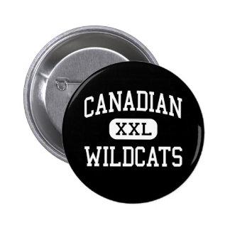 Canadian - Wildcats - High School - Canadian Texas 6 Cm Round Badge