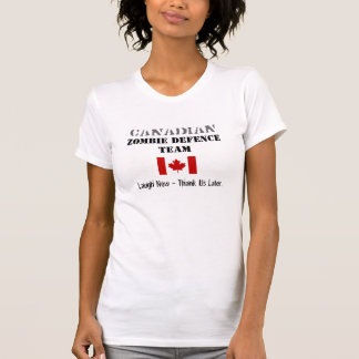 Canadian Zombie Defence T-Shirt