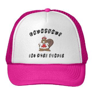 Canadians Eat More Beaver Mesh Hat