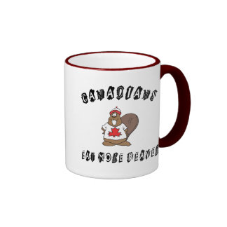 Canadians Eat More Beaver Mug