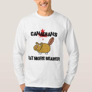 Canadians Eat More Beaver T Shirt