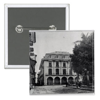 Canal Administration Building, Panama 15 Cm Square Badge