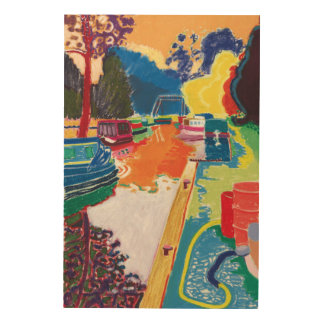 Canal at Dundas Wood Wall Decor