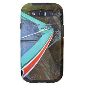 Canal Boat In Lock Samsung Galaxy S3 Covers