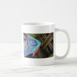 Canal Boat In Lock Coffee Mug