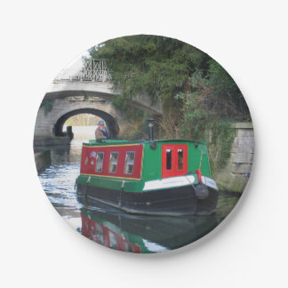 canal boat plate