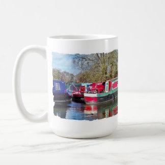 CANAL BOATS COFFEE MUG