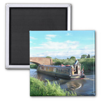 CANAL BOATS MAGNET