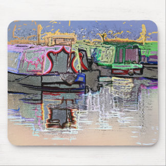 CANAL BOATS MOUSE MAT
