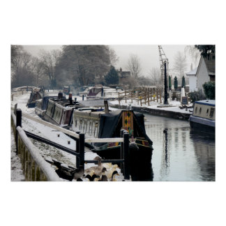 Canal Boats Posters