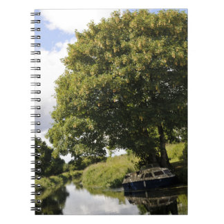 Canal Boats Spiral Note Book