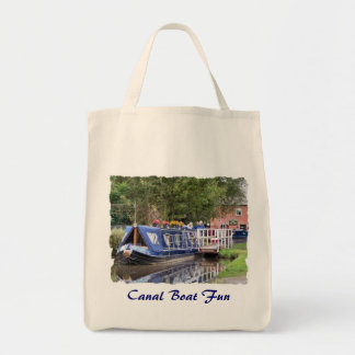 CANAL BOATS UK CANVAS BAGS