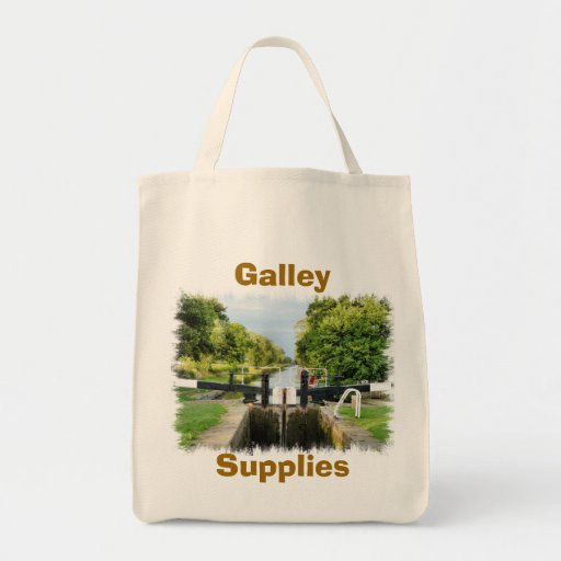 CANAL BOATS UK CANVAS BAG