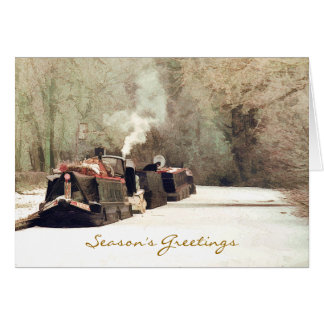 CANAL BOATS UK CARD