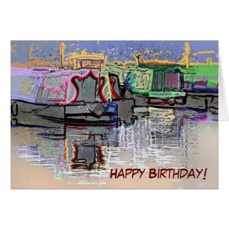 CANAL BOATS UK CARDS