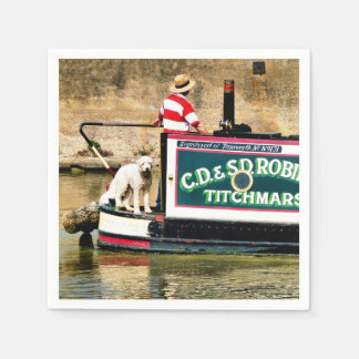 CANAL BOATS UK DISPOSABLE NAPKIN