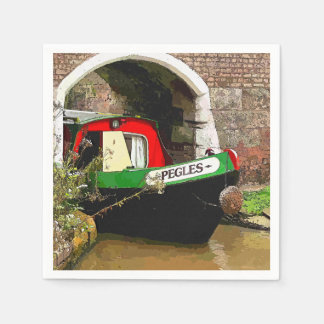 CANAL BOATS UK DISPOSABLE SERVIETTE