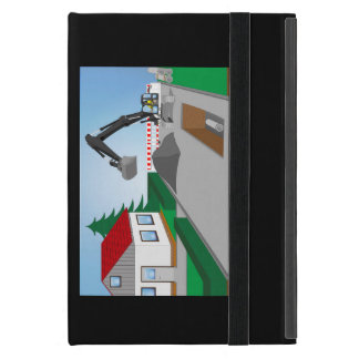 Canal construction place case for iPad mini