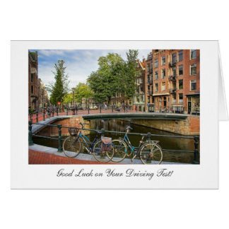 Canal Crossin - Good Luck on Driving Test Card