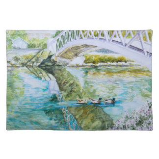 Canal Crossing Place Mat
