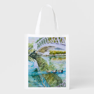 Canal Crossing Reusable Grocery Bag