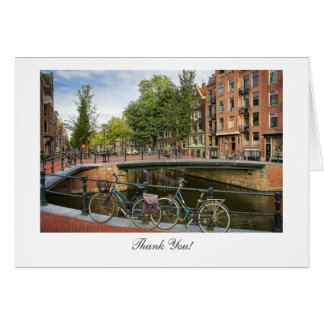 Canal Crossing - Thank You Greeting Card