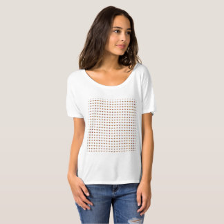 Canal Flowers Pattern T-Shirt