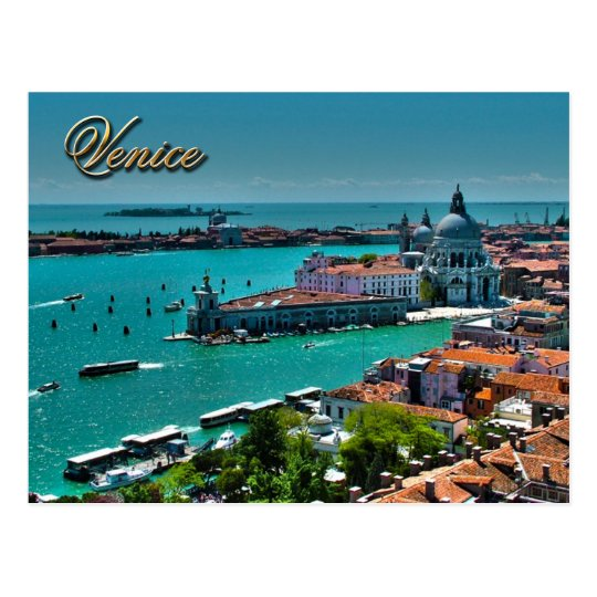 Canal Grande, Venice, Italy Postcard