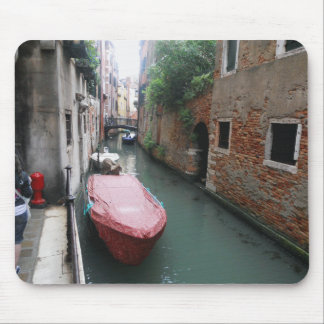 Canal in Italy Mouse Mat