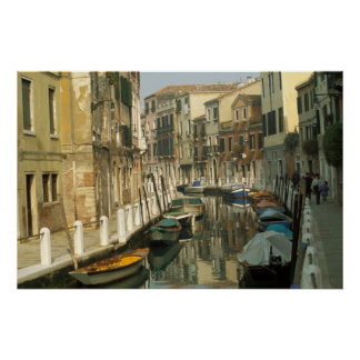 Canal in Santa Croce, Venice, Italy Poster